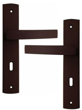 Poign e de porte int rieure pas cher design bois weng sur - Poignee de porte design pas cher ...