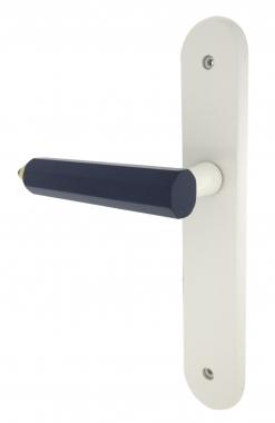 1 2 poign e de porte int rieure pas cher r versible pour chambre enfant sur plaque bec de cane. Black Bedroom Furniture Sets. Home Design Ideas