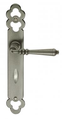 1 2 poign e de porte int rieure r versible rustique en fer - Demi porte interieure ...