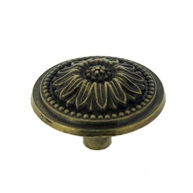 Poign e de tiroir meuble ancien table de lit a roulettes - Bouton de porte cuisine ...