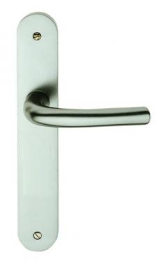Poign e de porte int rieure design en aluminium anodis for Poignee de porte interieure
