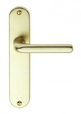 poign e de porte int rieure pas cher en aluminium sur plaque bdc entraxe 165 mm courchevel. Black Bedroom Furniture Sets. Home Design Ideas