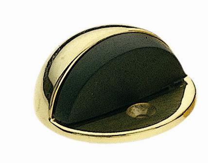 but e de porte design en laiton poli 1 2 lune bouton et poign e de meuble. Black Bedroom Furniture Sets. Home Design Ideas