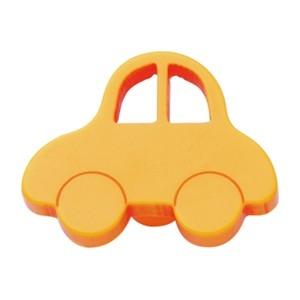Bouton de porte et tiroir de meuble voiture enfant en plastique jaune de 44x3 - Bouton de tiroir enfant ...