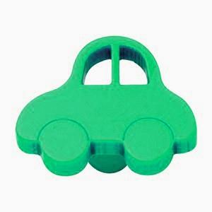 bouton de porte et tiroir de meuble enfant en plastique vert de 44x34mm petite oto poign e de. Black Bedroom Furniture Sets. Home Design Ideas