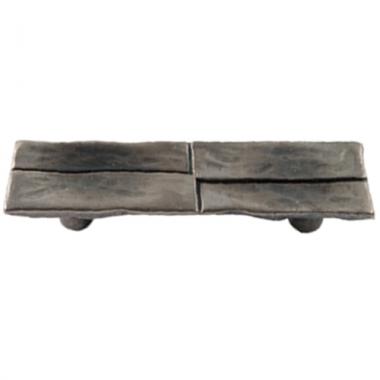 Poign e de porte ou tiroir de meuble en zamak argent - Poignee de porte de meuble ...
