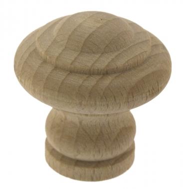 bouton de porte et tiroir de meubleet placard en bois brut 30 mm lyonnais bouton et poign e. Black Bedroom Furniture Sets. Home Design Ideas