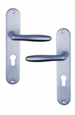 Poign E De Porte D 39 Entr E Design En Aluminium Anodis Inox