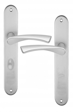 Poign E De Porte D 39 Entr E Design En Aluminium Anodis