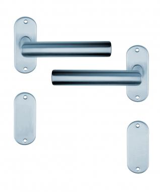 Poign e de porte design en aluminium anodis inox mat - Poignee de porte inox design ...
