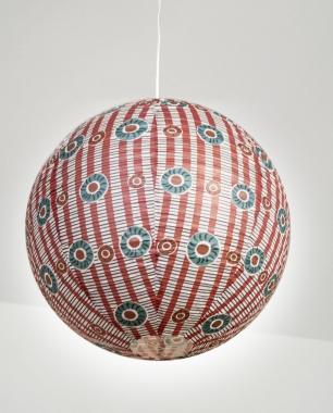 suspension boule japonaise d coration graphic light ouvre et d co. Black Bedroom Furniture Sets. Home Design Ideas