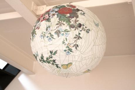 suspension boule japonaise d coration green liberty ouvre et d co. Black Bedroom Furniture Sets. Home Design Ideas