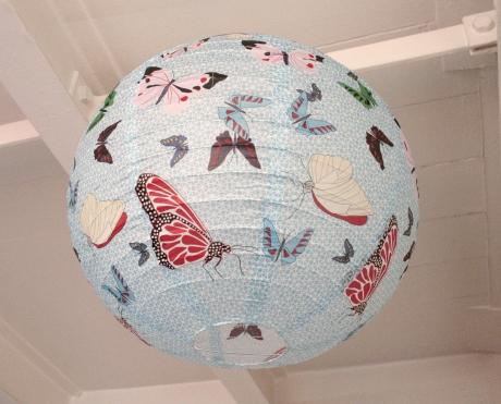Suspension boule japonaise d coration papillon ouvre et d co for Decoration porte japonaise