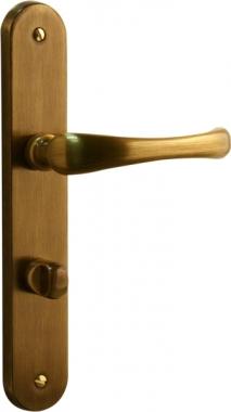 poign e de porte int rieure design en laiton patin sur. Black Bedroom Furniture Sets. Home Design Ideas