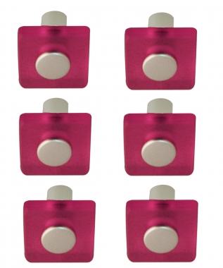 lot de 6 boutons de porte et tiroir de meuble design en acrylique ... - Bouton De Meuble Design