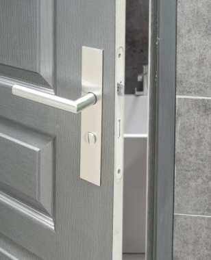 plaques carr de poign e de porte int rieure velox fix. Black Bedroom Furniture Sets. Home Design Ideas