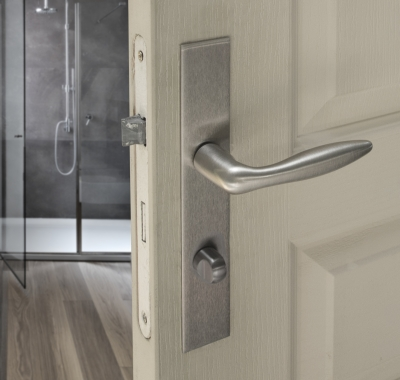 Plaques carr de poign e de porte int rieure velox fix for Porte interieure basique