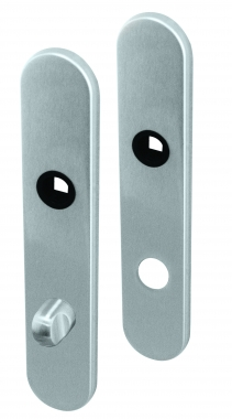 plaques de poign e de porte int rieure velox fix ronde. Black Bedroom Furniture Sets. Home Design Ideas