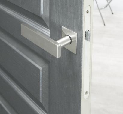 rosaces carr de poign e de porte int rieure velox fix bec. Black Bedroom Furniture Sets. Home Design Ideas