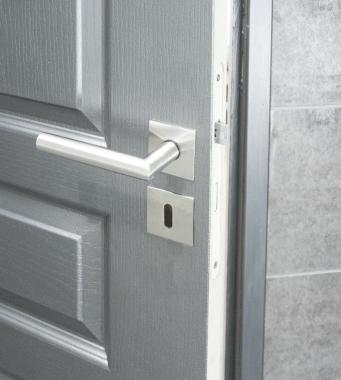 Rosaces carr de poign e de porte int rieure velox fix cl Porte interieure basique