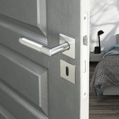 rosaces carr de poign e de porte int rieure velox fix cl. Black Bedroom Furniture Sets. Home Design Ideas