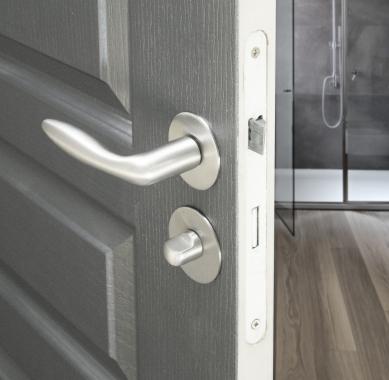 b quille double de porte int rieure velox fix en laiton arena poign e de porte. Black Bedroom Furniture Sets. Home Design Ideas