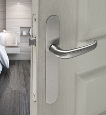 b quille double de porte int rieure velox fix en inox madrid poign e de porte. Black Bedroom Furniture Sets. Home Design Ideas