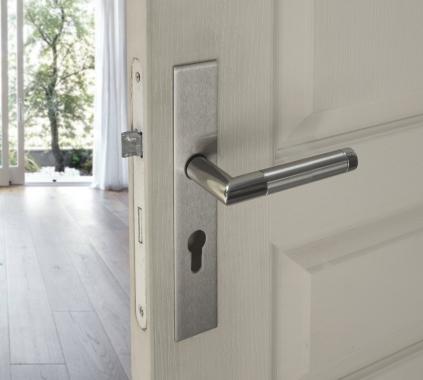b quille double de porte int rieure velox fix en inox tina poign e de porte. Black Bedroom Furniture Sets. Home Design Ideas