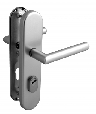 Poigne De Porte DEntre De Scurit Plaque En Inox Cl I Entraxe
