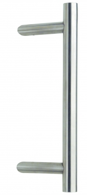 barre de tirage tubulaire droite en inox diam tre 32 mm entraxe 30 cm avec support inclin. Black Bedroom Furniture Sets. Home Design Ideas