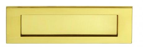 Entr e de boite aux lettres lutece bouton et poign e de - Boite aux lettres sur porte d entree ...