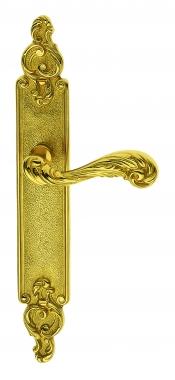 Poignée De Porte Intérieure SULLY En Laiton, Classique, Sur Plaque Cle I