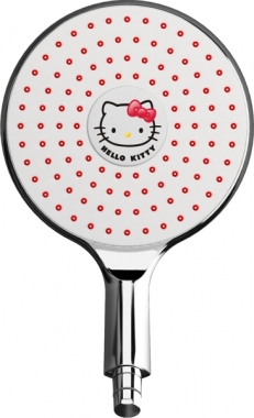 pomme de douche hello kitty sunny avec led poign e de porte. Black Bedroom Furniture Sets. Home Design Ideas