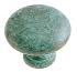 Anneau de porte ou tiroir de meuble en laiton vert de gris Ø 30 mm, CONVEXE