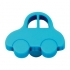 Bouton de porte et tiroir de meuble voiture enfant en platique bleu de 44X34mm, PETITE OTO