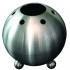 Humidificateur d'air, sphère en acier inoxydable, CHEMINÉE