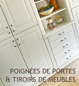 Poign�es de portes & tiroirs de meubles
