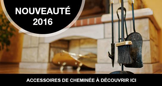 Accessoires de cheminée