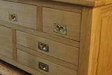 Poignées de portes et tiroirs de meubles à encastrer