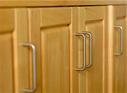 Poignées de portes et tiroirs de meubles de placards