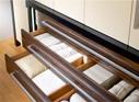 Poignées de portes et tiroirs de meubles de dressings